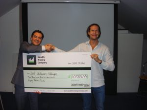 Darren Winters Charity Projects - Charity Live Trading Day